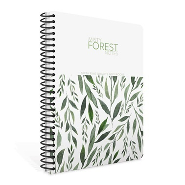 Gıpta Forest A4 Kareli 100 Yaprak Defter Renkli
